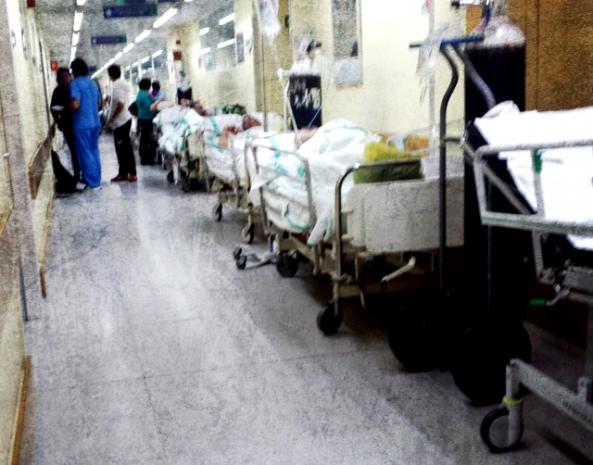 Foto de las Urgencias del Hospital Virgen de la Salud de Toledo, publicado en elplural.com