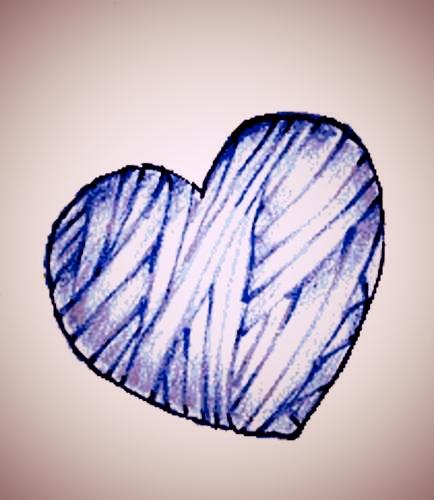 corazon vendado